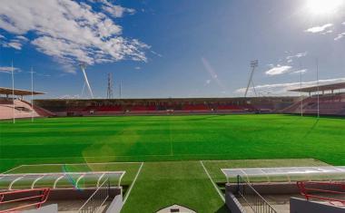 Décor pour votre tournage : le stade de rugby Ernest Wallon