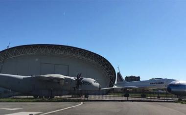 écor pour votre tournage : le musée de l'aéronautique Aeroscopia