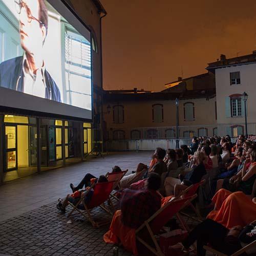 Cinéma en plein air à la Cinémathèque de Toulouse